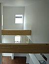 「+hakoハコ」からリビング高天井の眺めです。