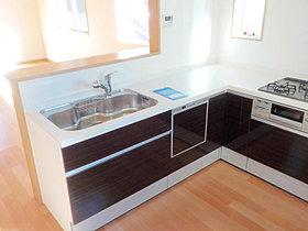 【キッチン写真】現地モデルハウス堂々オープン(^^♪