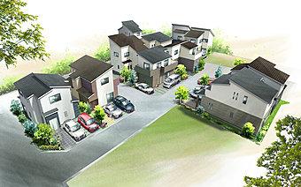 「駅徒歩の街」 全11区画の街並み誕生