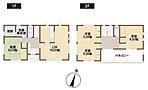 2階各居室は6帖以上。クローゼットタイプの収納スペースがついています(1期8号棟)