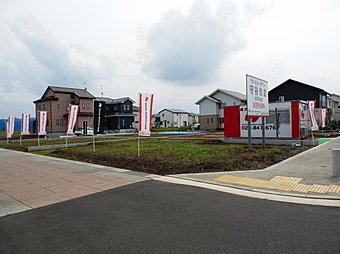 ☆全14区画分譲開始!☆No.7土地(50.43坪)+当社レクア☆を建てた場合のイメージ画像となります。