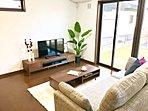☆No.32 リビング☆家具(ダイニングテーブルセット・ソファ・TVボード)・家電付きでです!見学会開催中です!