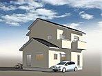 ■参考プラン 完成予想図 マイホームの第1歩は、自由設計で理想の住まいを!