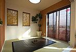 ■和室はご両親や友人の宿泊に大活躍。普段は客間や寝室、キッズスペースとして。