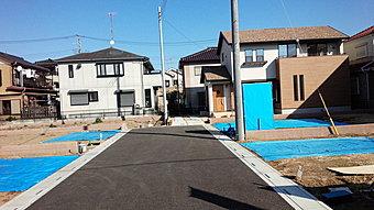 江川第一 現場写真。平成28年6月に造成工事が完了しました。