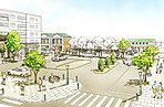 ■阪急桜井駅までフラットな道のりで徒歩6分の立地。■桜井駅前再整備計画で、ますます便利で快適に変わりゆく街、箕面・桜井