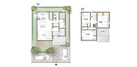趣味にも対応できる収納スペースを確保した家