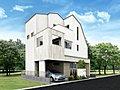 MELDIAグループ 三栄建築設計のデザイナーズ住宅<葛飾区金町2丁目>