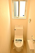 温水洗浄機能付のトイレ~ゆうぐれの家~