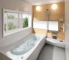 寛ぎの浴室