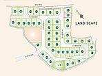 全区画駐車スペース2台以上が可能なゆったりとした大きさです。