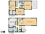 【全体区画図】全3棟の新築分譲住宅!お得な当社代理販売の物件です!