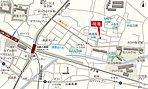 京王線「高幡不動」駅徒歩11分、多摩モノレール線「高幡不動」駅徒歩9分