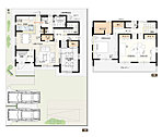 8号棟:敷地面積/ 202.26 m2(61.18坪) 建物面積/ 113.16 m2(34.16坪)
