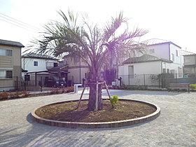 1期の現場隣接地に新たに作った公園。