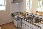No.20-3 調理台が広く、楽しくお料理できます。食器洗浄乾燥機付で、片づけもラクラク!