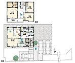 No.1 2つの庭がアウトドアライフを充実させる、広々敷地を楽しむ家。