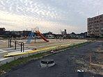現地写真(平成28年7月)公園用地も工事が進んでいます