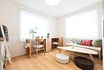 NO.8 現地モデルハウス 室内【家具付モデルハウス分譲】