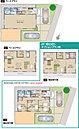 新築分譲住宅No.1  4,490万円 土地面積:160.18m2 建物面積:106.00m2