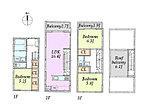 C区画 3LDK参考プラン 建物面積101.20平米 参考価格1,700万円