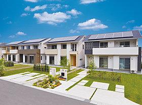 電気代以外にも、CO2排出量を大幅削減。環境にもやさしい家。