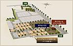 【区画図】全82区画の街「河内磐船駅前プロジェクト」に、「ノーブルコート交野中央~ダブル発電の街~(22区画)」誕生。