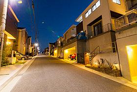 分譲地画像「夜の街並み」