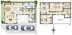1号地コンセプト(モデル)ハウス間取り図