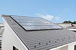 太陽光発電システム標準搭載のおうちです。