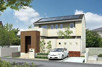 住宅ローンを大幅に軽減できる太陽光を搭載可能な立地条件。 道路から一本入った道にあるので、交通量も少ない立地条件