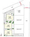 3号地が建築条件付土地、1号棟、2号棟、6号棟が建売です。平成28年11月下旬完成予定!