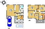 モデルハウス間取図