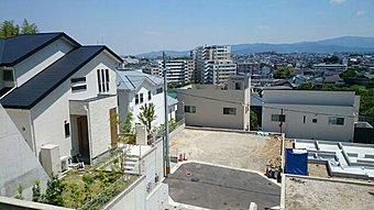 全5区画 高台に位置し、車の通り抜けが出来ない、閑静な住宅地です。
