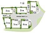 約30.16坪より約34.47坪のゆとりの街区設計。ワイドプランも対応可能。