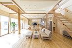 心地いいゆとりの空間を建築します。建物は自由設計。