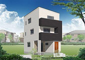 2号地モデルハウスパース