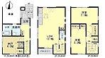 間取り図●全居室2面採光で明るい室内!ご家族のコミュニケーション深まるリビング階段!豊富な収納スペース!