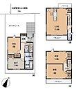 間取☆各居室収納スペース完備のほか、リビング物入や納戸スペースもあります!