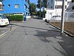 前面道路の様子