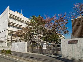 狛江第二中学校・・距離613m(徒歩8分)