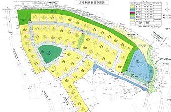 【現地】全60区画からなる大規模分譲地