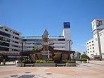 東武百貨店・イトーヨーカドー等商業エリアの広がるJR船橋駅北口。