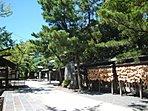 緑の多い歴史のある船橋大神宮(250m)