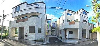 外観 堂々完成。洗練された気品漂う閑静な街並みを形成しております。