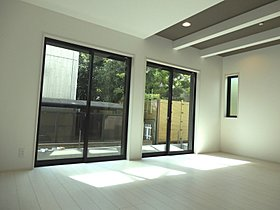 家具の配置もしやすい形状の広々LDK