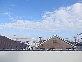 ルーフバルコニーからの眺望