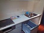 食洗機・浄水器付き:システムキッチン