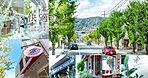 コンセプト 快適の才 緑豊かな並木路沿いには瀟洒なショップや名店も多数