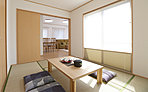 当社分譲施工例:洋室畳敷き